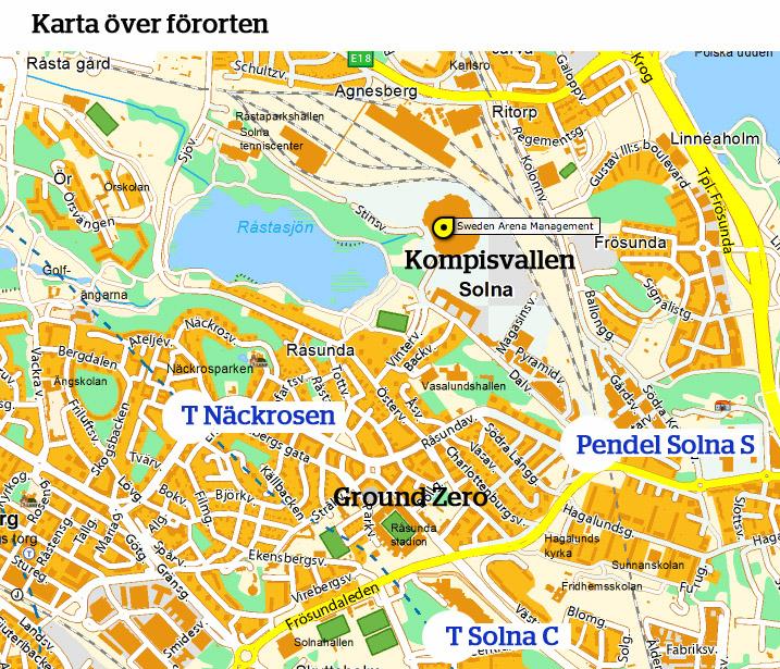 friends arena karta INFÖR DERBYT – DETTA GÄLLER!   Järnkaminerna   Officiell  friends arena karta