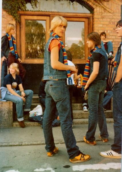 På väg till Norrköping 1979.