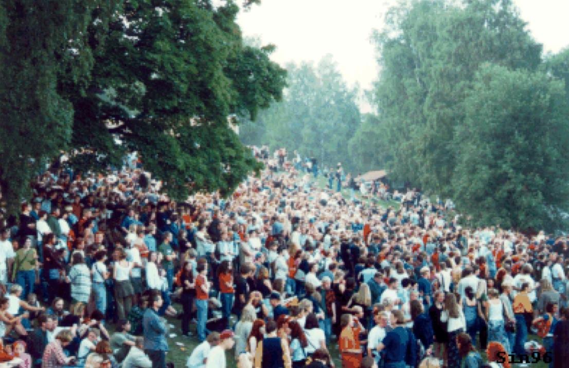 Lollipopfestivalen – skogsfestival på Lida friluftområde. (Foto: Anna Elkert, Scandinavian Indie)